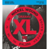 D'Addario EXL230 - Струны БАС super soft long, 055-110.