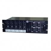 Show MA-4075 - трансляционный усилитель мощности 4 канала по 40 Вт ,  4 зоны,  50/700/100V , 4-8 Om,