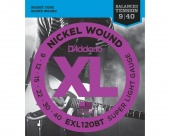 D'Addario EXL120BT - струны для  электрогитары, Super Light, 9-40, никель