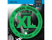 D'Addario EXL220BT - Струны БАС ,nickel,super soft 40-95