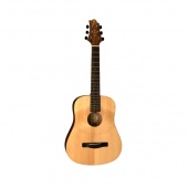 """GregBennett GD50/OPN MINI  акустическая гитара, мини дредноут, 21 9/32 """", ель, цвет натуральный"""