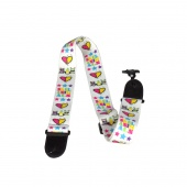 "Perri's LPCPSA-1111 SKELANIMALS HEARTS - Полиэстеровый ремень (2""), SKELANIMALS HEARTS"