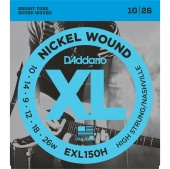 D'Addario EXL150H - High-String/Nashville Tuning, 10-26
