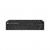 Show TA-506M PLUS - трансляционный усилитель мощности 60Вт,4-16Ом, 25/70/100В, 4mic+3AUX, 220/DC-24В