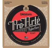 D'Addario EJ47 - струны для классич. гит, Gold, Normal Tension
