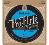 D'Addario EJ48 - струны для классич. гит., Gold, Hard Tension