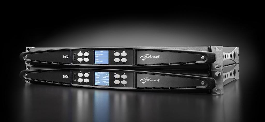 T- Серия от POWERSOFT. 2/4-канальные усилители с DSP и Dante™